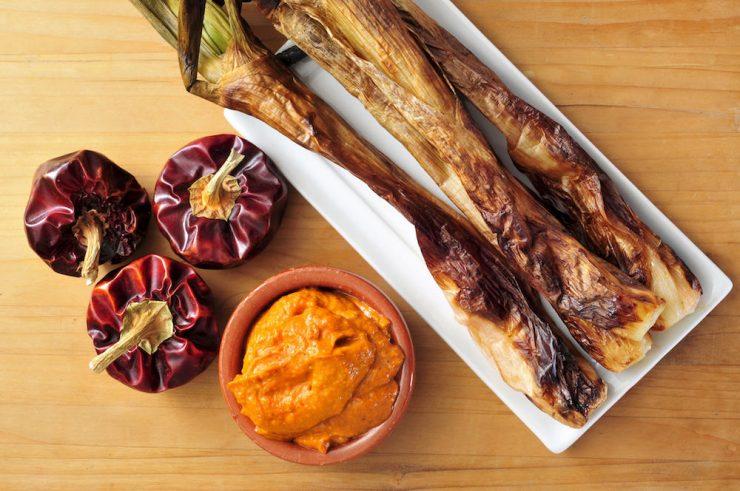 Verdure grigliate a Barcellona