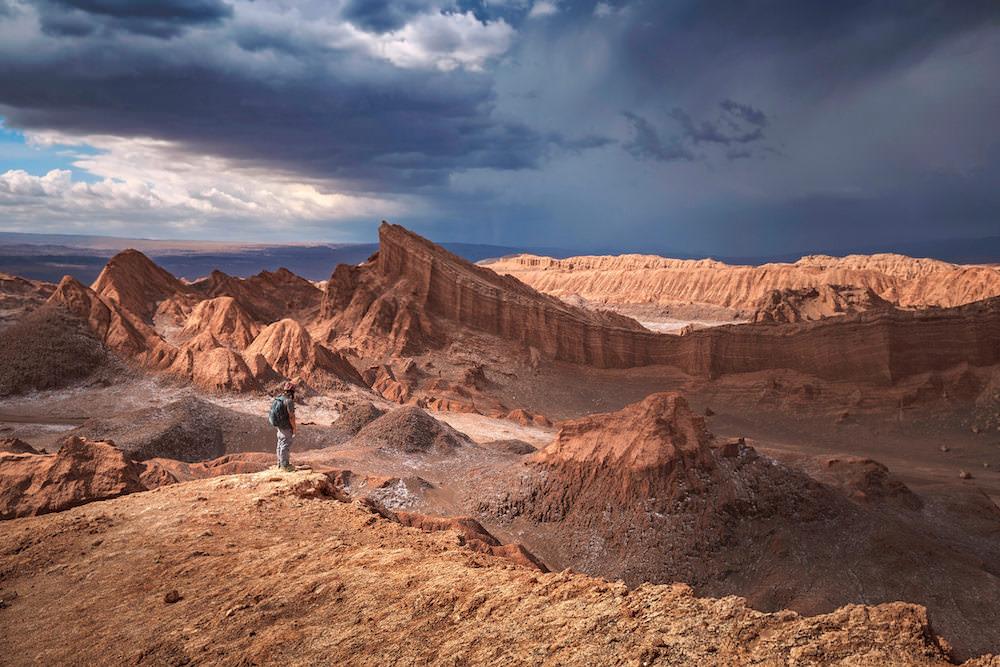 Valle della Luna, Atacama Cile